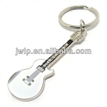 Cute keychain with guitar