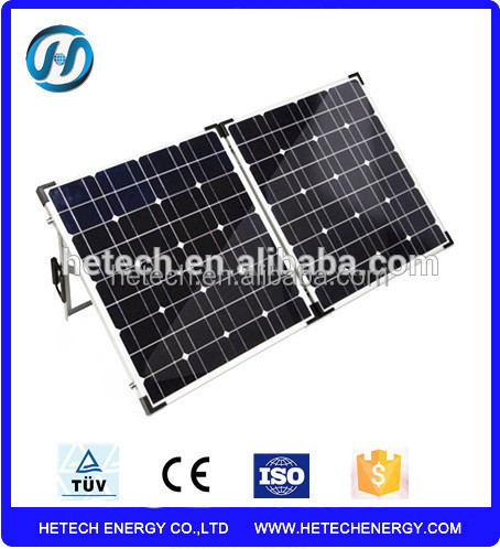 High performance competitive price mono 60W folding foldable solar panel kits for sale