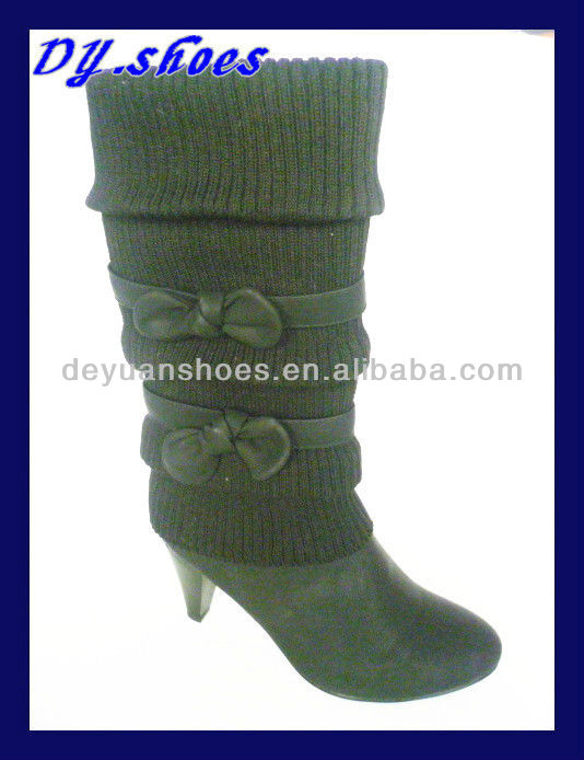 ladies knee high boots for lady