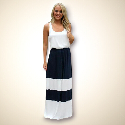 Buy 2015 High Quality Striped Women Summer Dresses ...