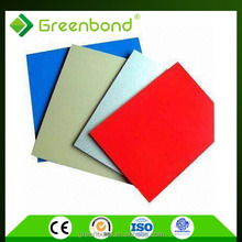 Greenbond exterior weather proof board aluminium composite panel acm panel