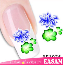 Cheapest water transfer sticker nail art/ custom nail wraps