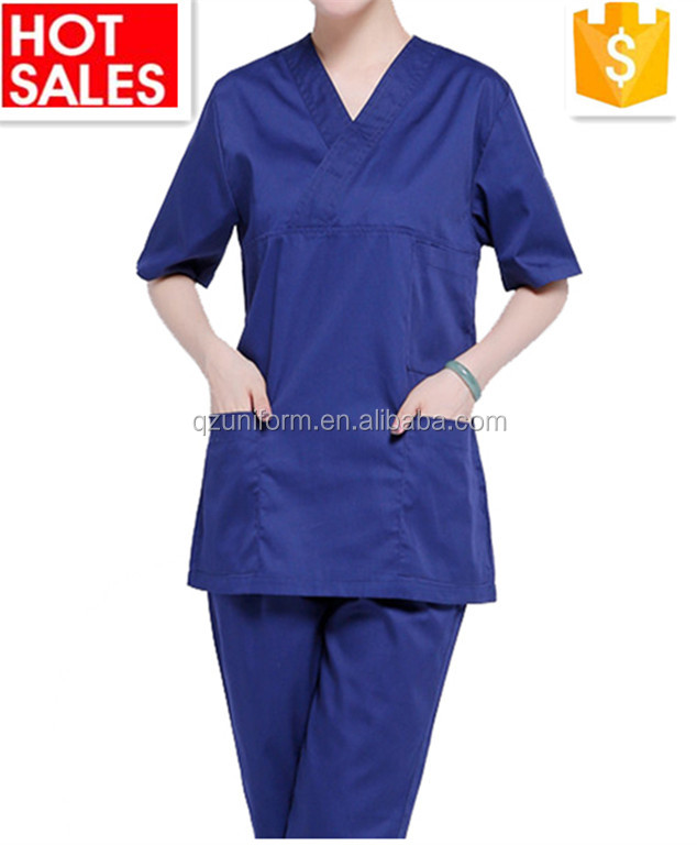 OEM Service Supply Type and Hospital Staff Scrubs Uniforms Type Printed Medical Scrubs