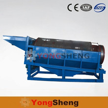 Fixed Rotary Gold Mining Sand , Stone Drum Trommel Screener