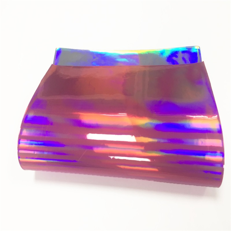 wholesale pvc iridescent plastic rainbow <strong>film</strong>