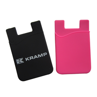 Silicone Smart Wallet Mobile Phone Card Holder