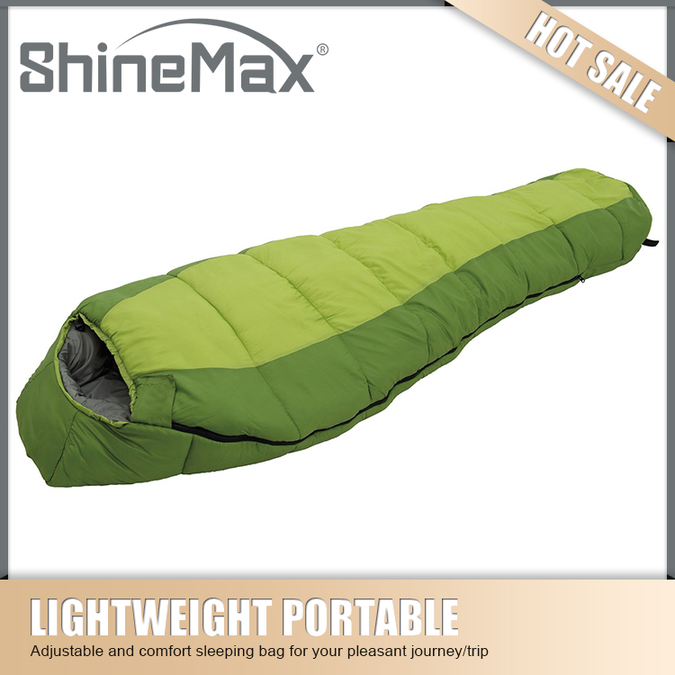 high quality down mummy sleeping bags for winter camping