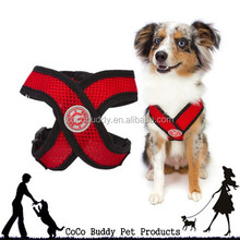 "2014 New ""X"" shape Comfort Soft Air-mesh Harness dog product"