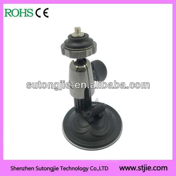 Plastic / Zinc alloy Camera mount holder with Suction cup