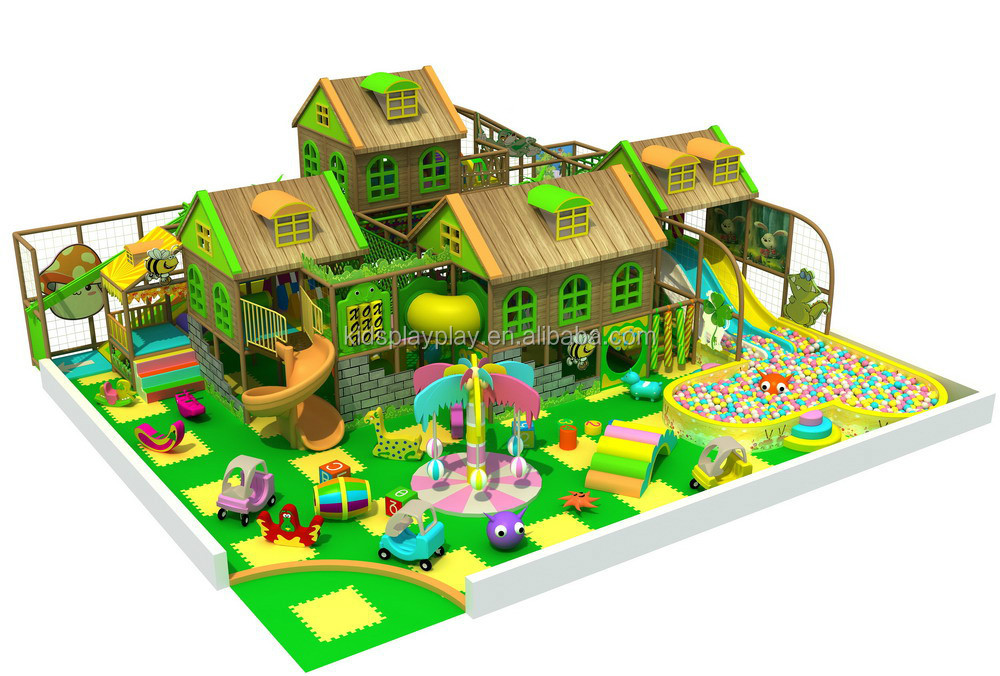 commercial indoor playground playsets