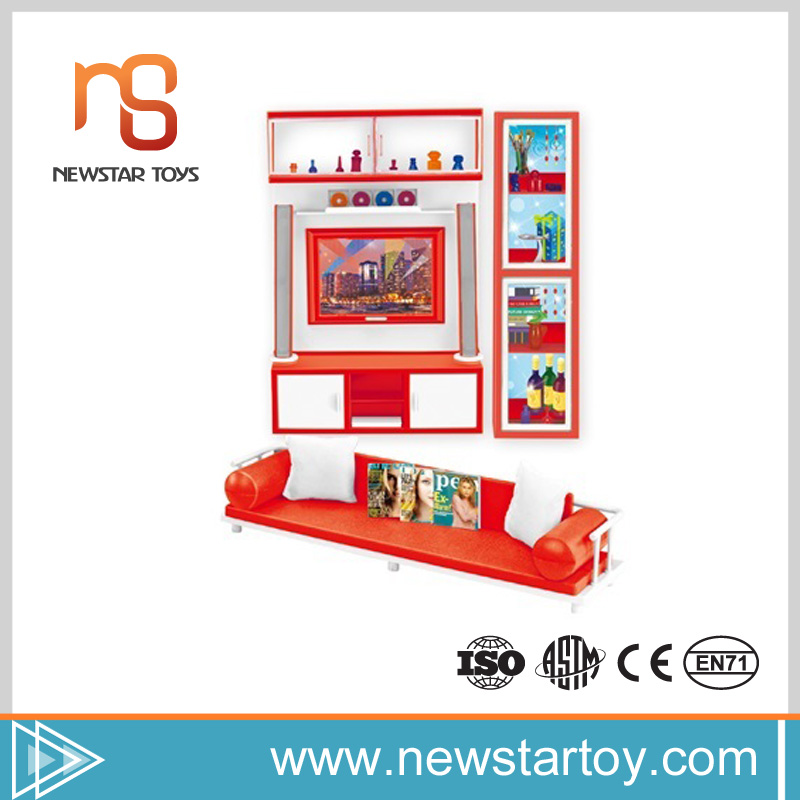 new idea parts sofa bookcase toys playing items for kids with lighting