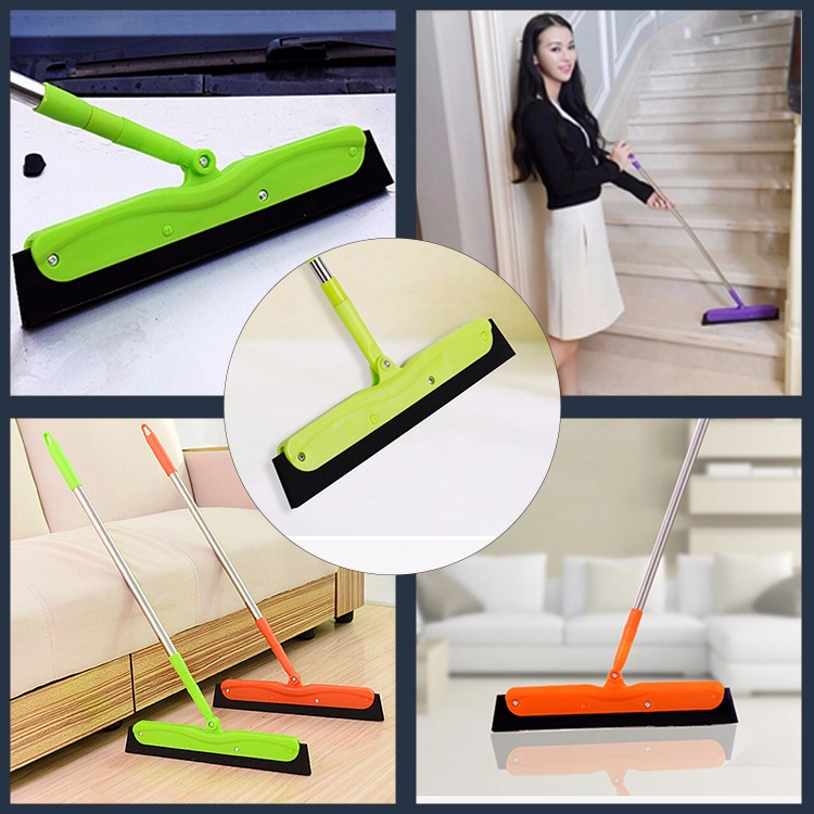 Rubber Floor Squeegee Foam Head blade