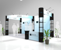 provide exhibition booth design with construction guidance