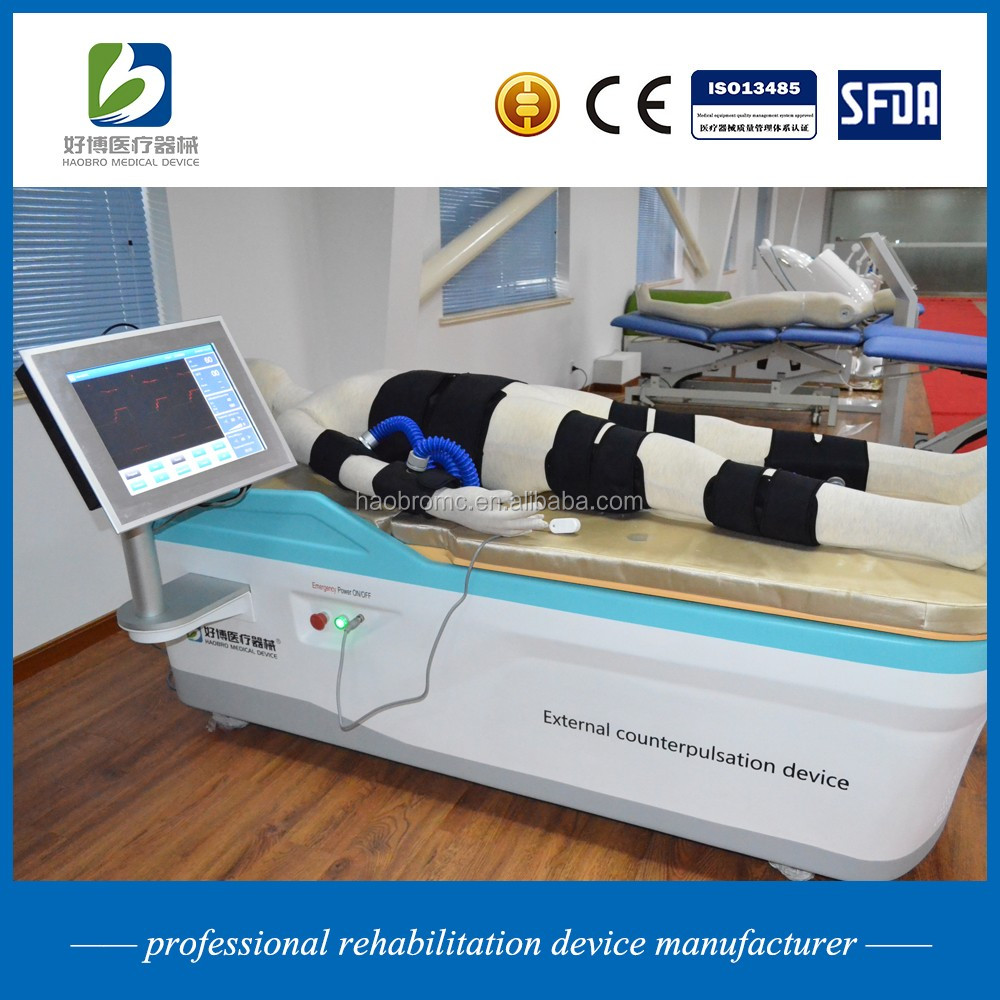 Haobro made cardiac ECPs heart rehabilitation equipment with ECG monitoring