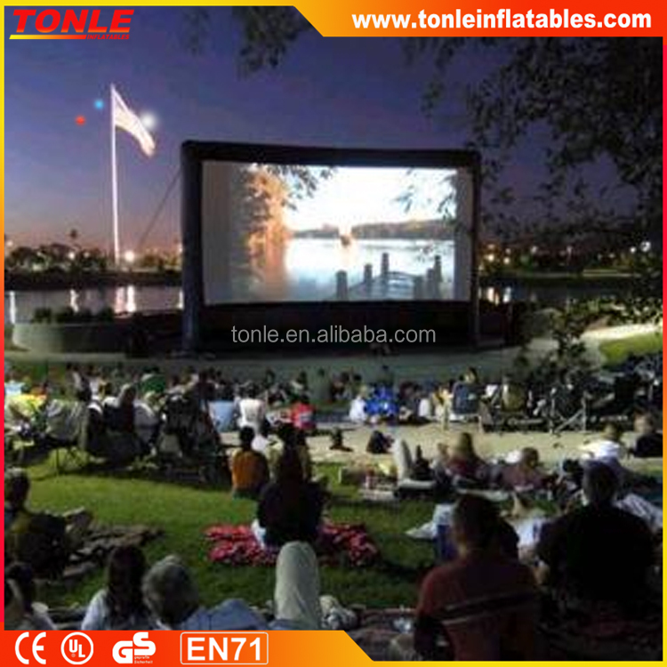 new design inflatable movie screen system/ inflatable projector screens