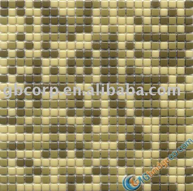 Colorful bubbles enamel glass mosaic tiles