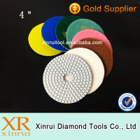 Granite flooring tools diamond polishing pad for stone