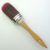 Lary high quality 100% PBT filament Round Brush with wooden handle
