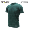 Fashion Running Gym Fitness Breathable No Side Seam Dry Fit Seamless Sportswear T Shirt