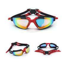 New Mirrored Coating Racing Best Uv Protect Myopia Swimming Goggles