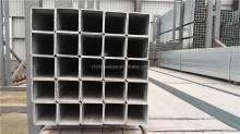 Black Square hollow section steel tubes, hot rolled, carbon steel, made in China