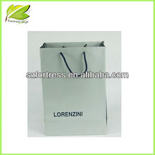 2013 Best salable recyclable white kraft paper bag for jeans