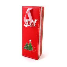 2017 Luxury laminationed gift bags customized printing tiny paper bag