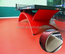 China carpet vinyl table tennis court pvc rolling flooring