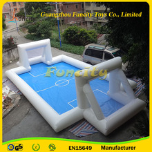 Inflatable Football Bumper Ball Field/Water Soccer Field /Inflatable Soap Football With High Quality