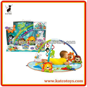 Hot Sale Smart Baby Deluxe Musical Activity Gym Multi-function Play Mat for Baby
