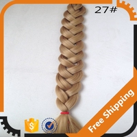 Fast Shipping Grade 8A hair braid made of synthetic fiber for party