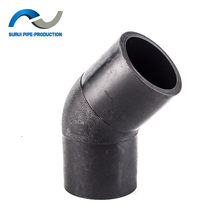 HDPE 45 degree elbow pipe fittings