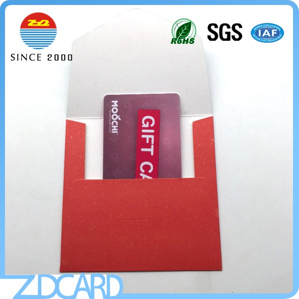 Custom Paper Foldable Hotel Room Key Card Holders
