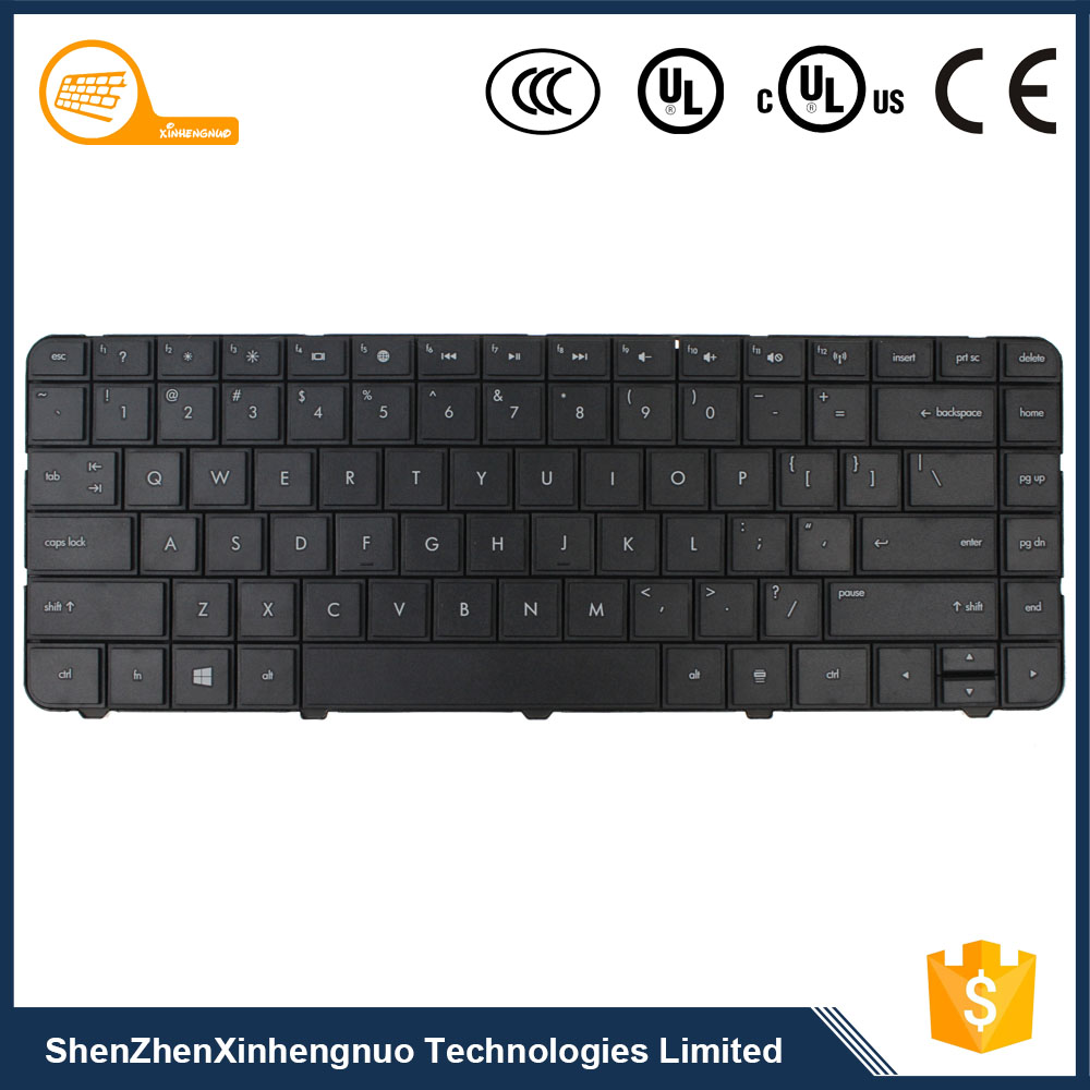 Shenzhen Custom Black Wired Laptop Internal keyboard for HP G4 G6 1056TU CQ43 CQ57 430 431 435 436 450