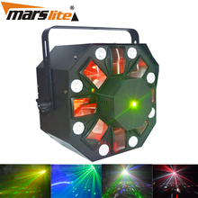Night club stage disco multi color mini cheap price 30w laser strobe led stage light with high quality