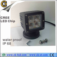 12V 12w Offroad Square Light Working
