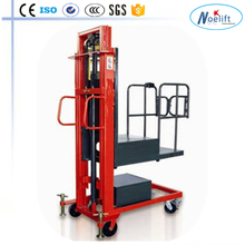 AC Motor Power Souce 300 kg semi-electric self-load order picker forklift