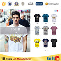 New Design Branded TShirts, Custom Blank T-Shirt, China Supplier T-Shirt Men