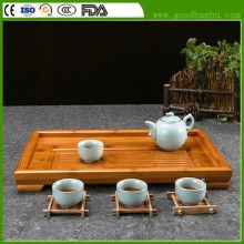 High Quality Factory Supply Bamboo Tea Tray