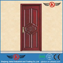 JieKai M230 hotel door / carving wood door / wooden door for bathroom