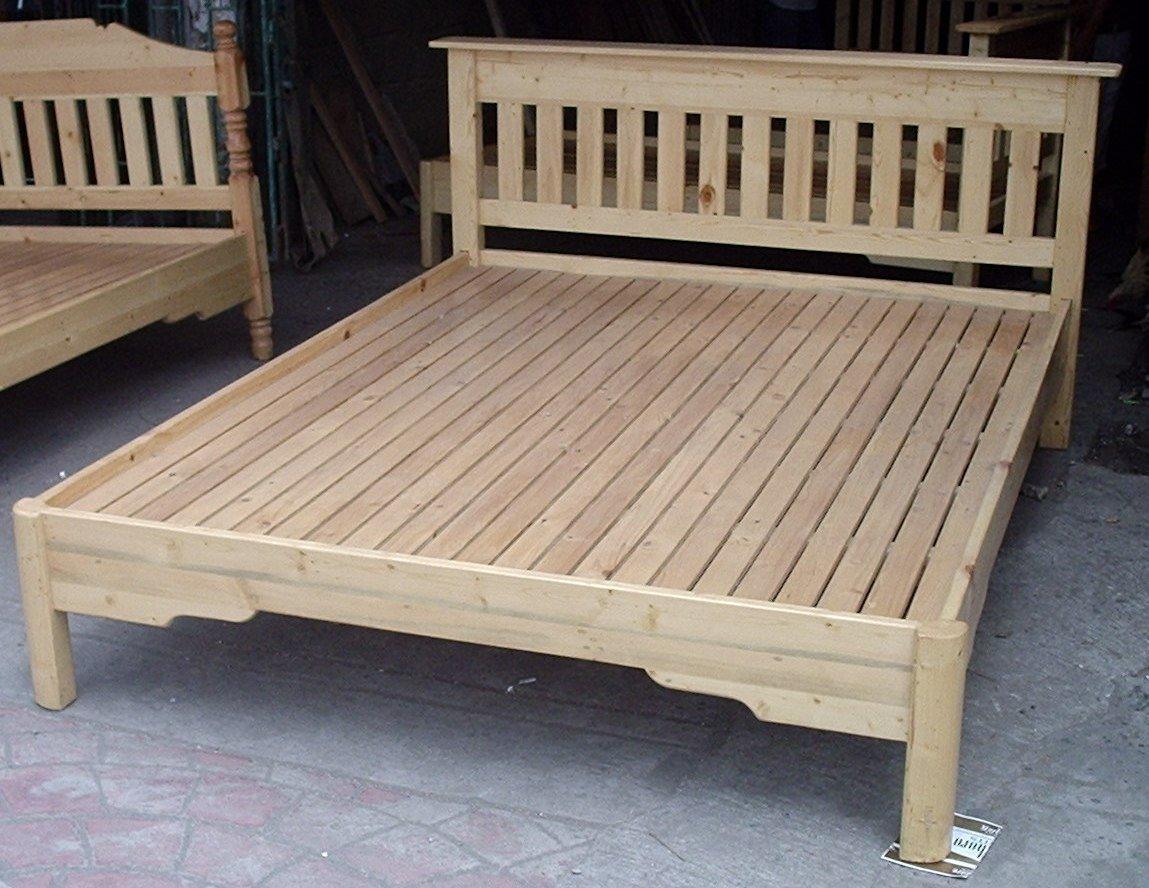 Cama de madera camas identificaci n del producto 101445176 for Futon cama de dos plazas