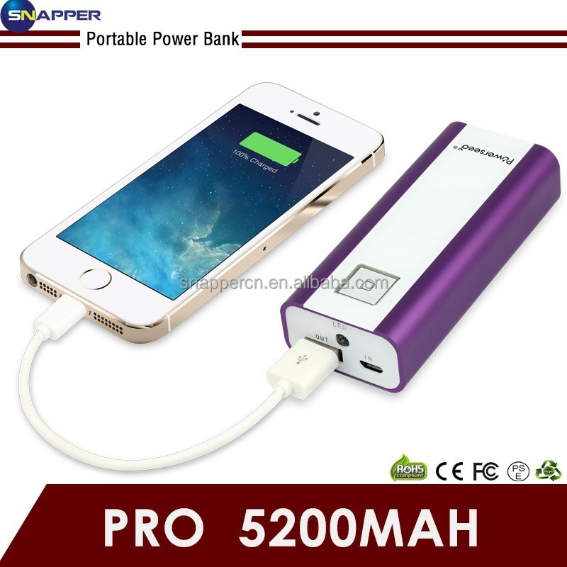 Power Bank 5000mAh Micro USB Cable Pocket Power