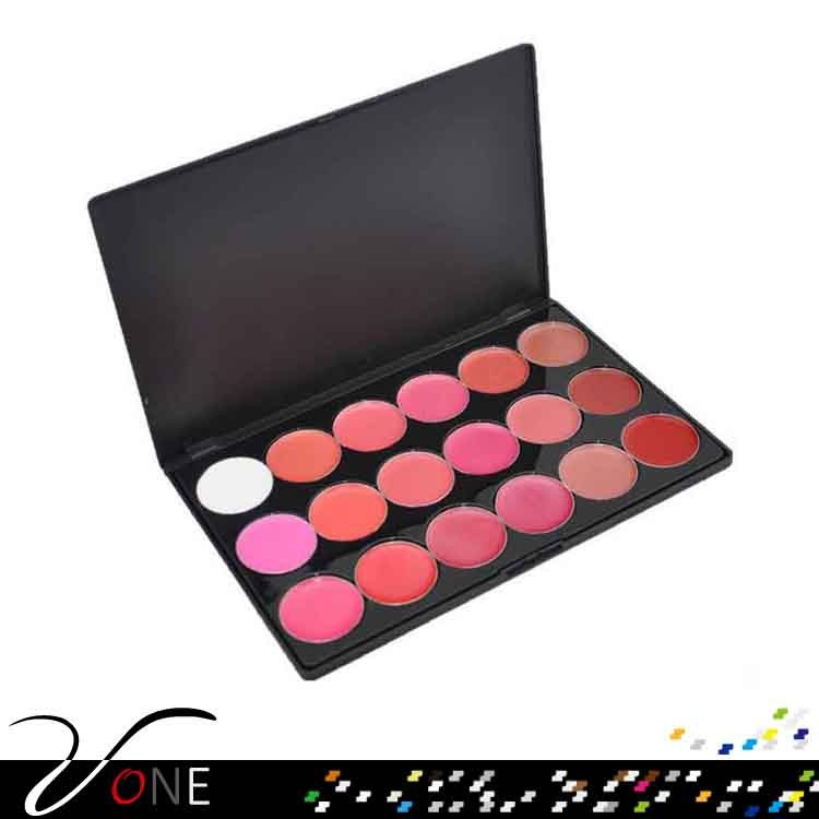 Lip tint oem 18 color lipgloss palette for wholesale