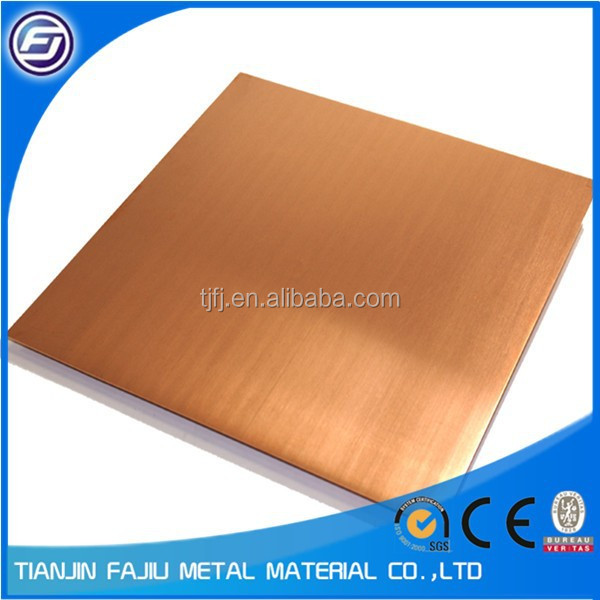 thick copper roof sheet thickness 5mm