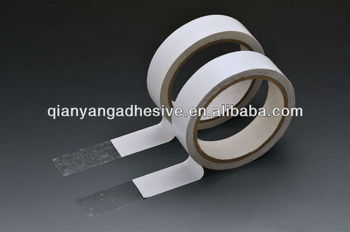 Double side tissue tape acrylic water based