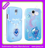 JESOY Luxury Diamond Studded Cell Phone Case Cover For Samsung Galaxy s4 Bling PC Cases