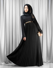 WS329 Turkish women long dress muslim abaya islamic clothing