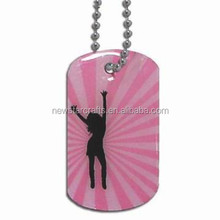 Sex girl and animal dog tags