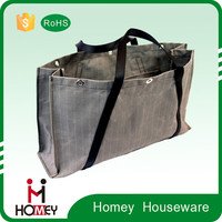 Customized Foldable Roll canvas tool tote bag
