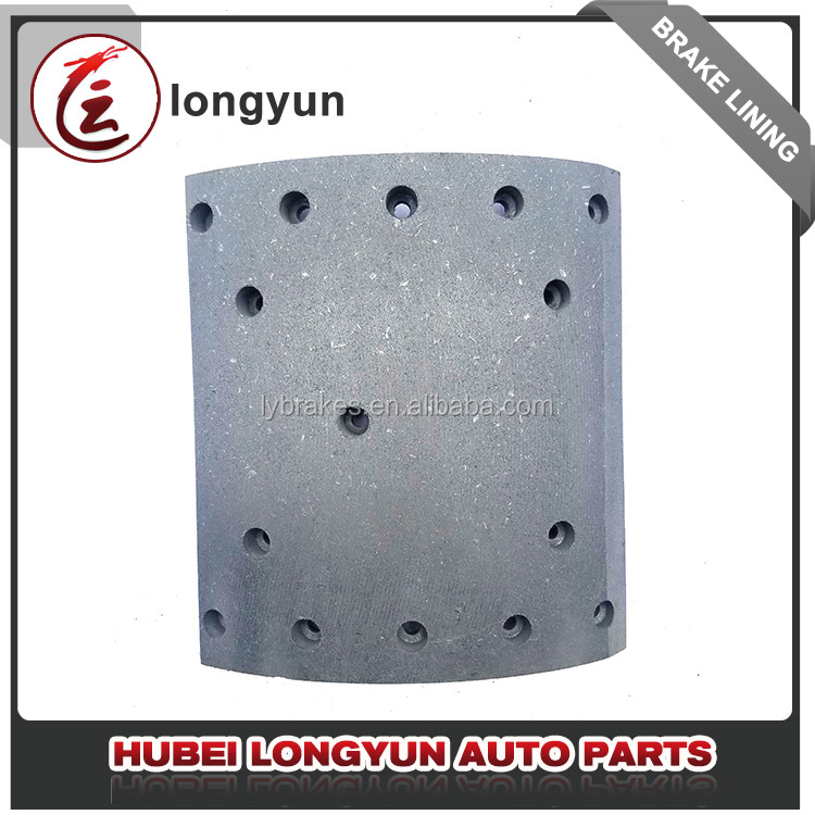 Top high quality low price WVA 19608 19609 daf bus brake lining